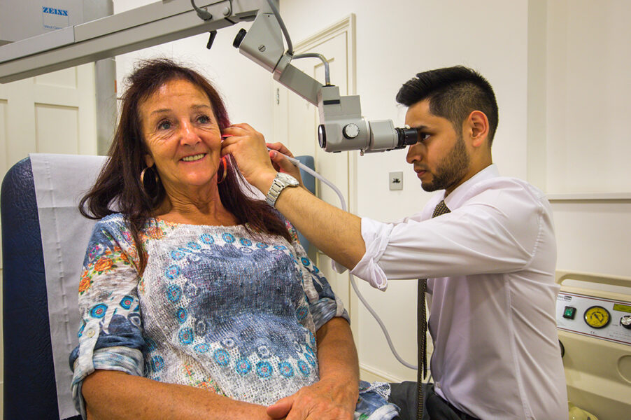 Ear Wax Removal Through Microsuction